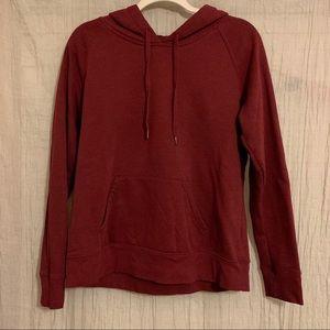 Old Navy burgundy hoodie size M